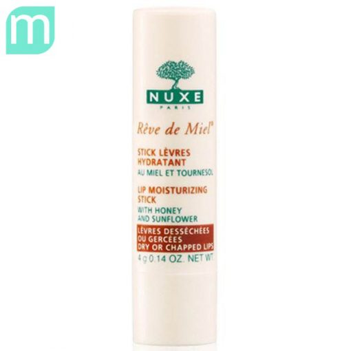 son-duong-moi-Nuxe-Reve-de-Miel-Lip-Moisturizing-Stick-review-hang-xach-tay-phap