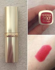 son-loreal-color-riche-297-red-passion-swatch-3