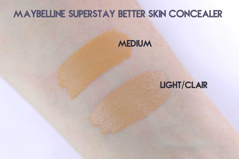 Che khuyết điểm Maybelline Super Stay Better Skin Concealer + Corrector