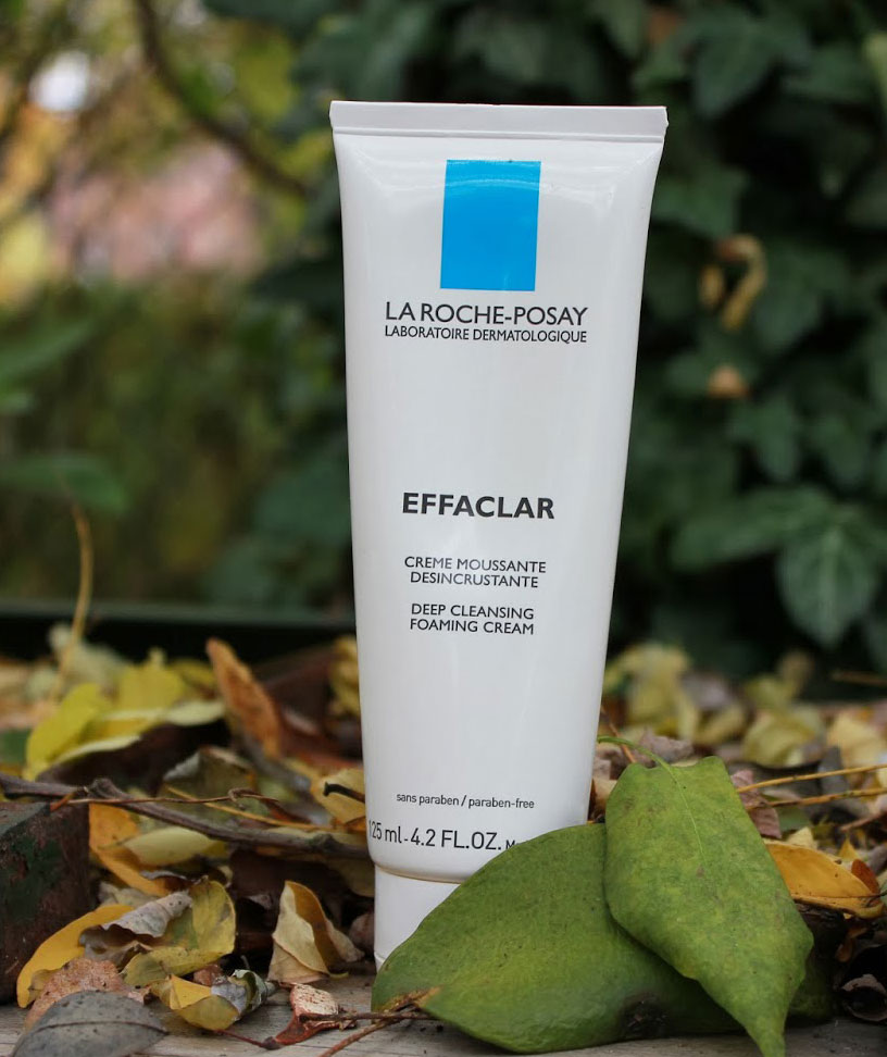 Image result for La Roche-Posay Effaclar Deep Cleansing Foaming Cream Cleanser