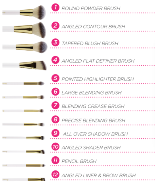 set-co-bh-cosmetic-pink-studded-elegance-12-piece