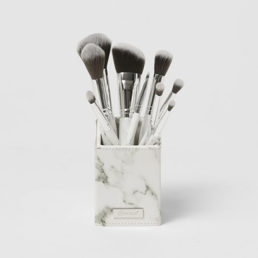 set-co-bh-cosmetics-white-marble-9-piece