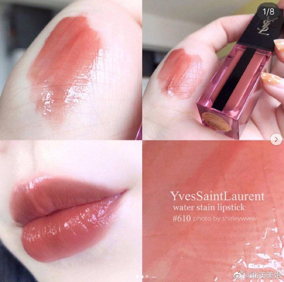 Son Kem Ysl Vernis A Levres Water Stain