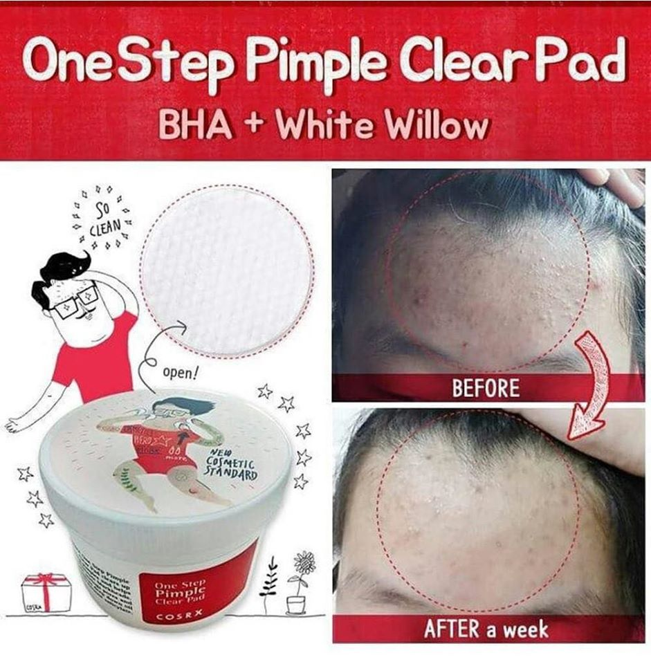 review-cosrx-one-step-pimple-clear-pad-70-mieng